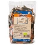 Makaron ryżowy świderki 3 kolory bezglutenowy BIO 250g Naturata