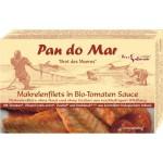 Makrela w sosie pomidorowym BIO 120g Pan Do Mar
