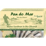 Sardynki w oliwie z oliwek BIO 120g Pan Do Mar