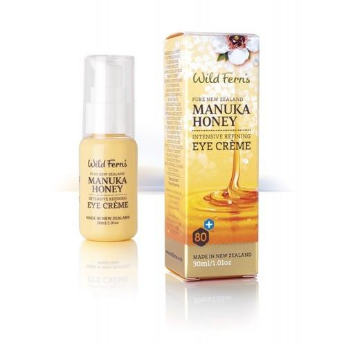 Intensywnie odmładzający krem pod oczy z miodem Manuka 30ml Wild Ferns Manuka Honey