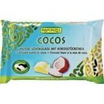 Czekolada biała z wiórkami kokosowymi Bio 100g Rapunzel