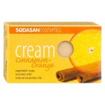Mydło o zapachu Cynamonowo - Pomarańczowym BIO 100g Sodasan