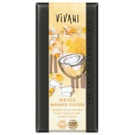 Czekolada biała jogurtowa mango-kokos BIO 100g Vivani