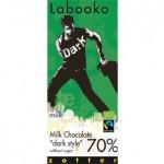 Czekolada Labooko Milk Chocolate dark style 70  2 x 35 g Zotter