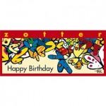 Czekolada Ręcznie nadziewana Happy Birthday 70 g Zotter
