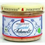 Smalczyk wegetariański z cebulą BIO 165g Zwergenwiese