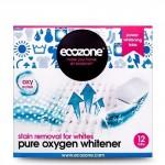 Odplamiacz do białego Pure oxygen 12 tabl. Ecozone
