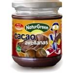 Masło z orzechów laskowych z czekoladą 200g NaturGreen