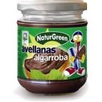 Masło z orzechów laskowych z karobem 200g NaturGreen