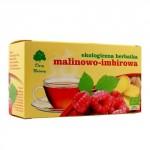 Herbatka malinowo-imbirowa BIO 20x3g Dary Natury