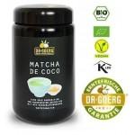 Matcha de coco - japońska zielona herbata Matcha z cukrem z kwiatów kokosu  BIO 250g Dr Goerg