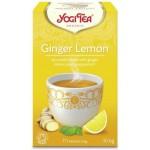 Herbata Imbir - Cytryna BIO 17x18g Yogi Tea