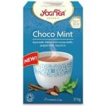Herbata Czekoladowo-miętowa BIO 17x22g Yogi Tea