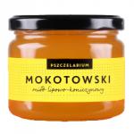 Miód lipowo-koniczynowy Mokotowski 400g Pszczelarium