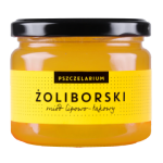 Miód lipowo-łąkowy Żoliborski 400g Pszczelarium