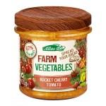 Pasta warzywna z pomidorami cherry i rukolą BIO 135g Allos
