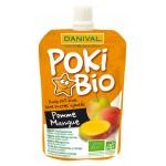 Poki przecier jabłko-mango 100% owoców bez dodatku cukrów BIO 90g Danival