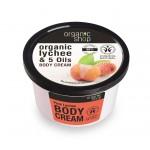 Krem do ciała różowe liczi 250ml Organic Shop
