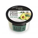 Maska do włosów ekspresowo regenerująca miodowe awokado 250ml Organic Shop
