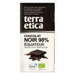 Czekolada gorzka 98% ekwador fair trade BIO 100g Terra Etica