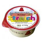 Pasta słonecznikowa dla dzieci bez dodatku cukrów bezglutenowa BIO 50g Zwergenwiese