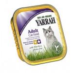 Dla kota kawałki kurczaka i indyka bezglutenowy BIO 100g Yarrah