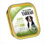 Dla psa kawałki kurczaka z warzywami bezglutenowe BIO 150g Yarrah
