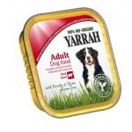 Dla psa kawałki kurczaka z wołowiną bezglutenowe BIO 150g Yarrah
