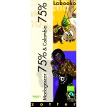 Czekolada Labooko Contest - Madagascar 75% & Colombia 75% 2 x 35 g Zotter
