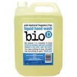 Antybakteryjne bezzapachowe mydło w płynie 5L, Bio-D
