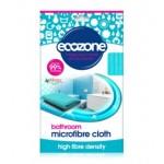 Ściereczka z mikrofibry do mycia łazienek Ecozone