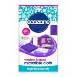 Ściereczka z mikrofibry do mycia okien i szkła, Ecozone