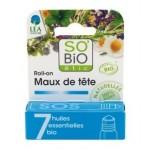 Roll-on na ból główy 7 olejków eterycznych 5ml So Bio