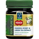 Miód Manuka Nektarowy z ekstraktem z zielonej herbaty 250 g
