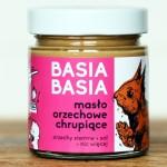 6x Masło orzechowe chrupiące Basia Basia 210 g