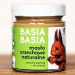 6x Masło orzechowe naturalne gładkie Basia Basia 210 g