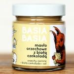 6x Masło orzechowe z białą czekoladą Basia Basia 210 g