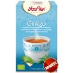 Herbata z Miłorzębem Japońskim BIO 17x18g Yogi Tea