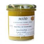 Miód malinowy z propolisem, imbirem i kurkumą 450g Swojskie Miody