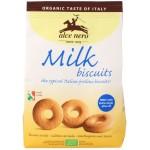 Ciastka mleczne z dodatkiem oliwy z oliwek extra virgin (14%) BIO 250g Alce Nero