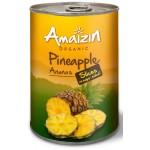 Ananas plastry 400g Bio Amaizin
