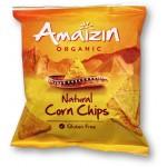 Chipsy kukurydziane solone 75g Bio Amaizin