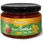 Sos salsa łagodny bezglutenowy BIO 260g Amaizin