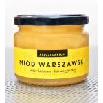 Miód Warszawski nawłociowo-koniczynowy 420g Pszczelarium