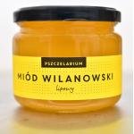 Miód Wilanowski lipowy 420g Pszczelarium