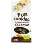Fun Cookies Czekoladowe Bio 120g BIO Ania