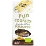 Fun Cookies Ryżowe Bio 120g BIO Ania