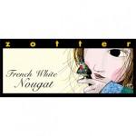 Czekolada Ręcznie nadziewana French White Nougat 70 g Zotter