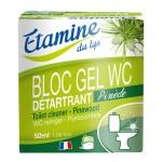 EDL zawieszka do WC z żelem oczyszczającym sosna i eukaliptus 50 ml