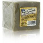 EDL Retro Tradycyjne oryginalne Mydło Marsylskie w kostce zielone 100 g